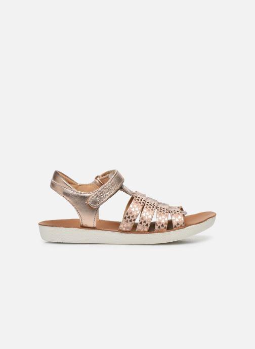 Sandales et nu-pieds Shoo Pom Goa Spart Rose vue derrière