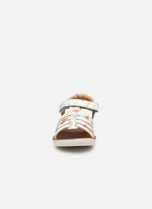 Sandales et nu-pieds Shoo Pom Goa Spart Blanc vue portées chaussures