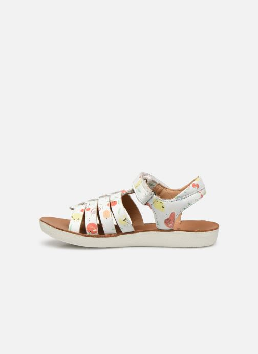 Sandales et nu-pieds Shoo Pom Goa Spart Blanc vue face