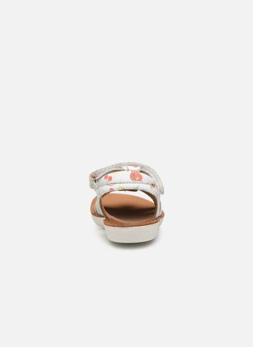 Sandales et nu-pieds Shoo Pom Goa Spart Blanc vue droite