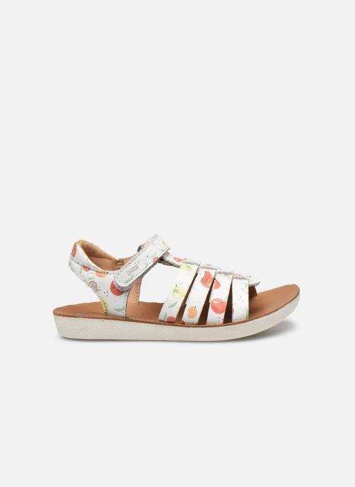 Sandales et nu-pieds Shoo Pom Goa Spart Blanc vue derrière
