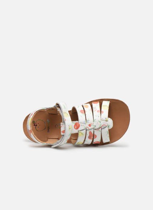 Sandali e scarpe aperte Shoo Pom Goa Spart Bianco immagine sinistra