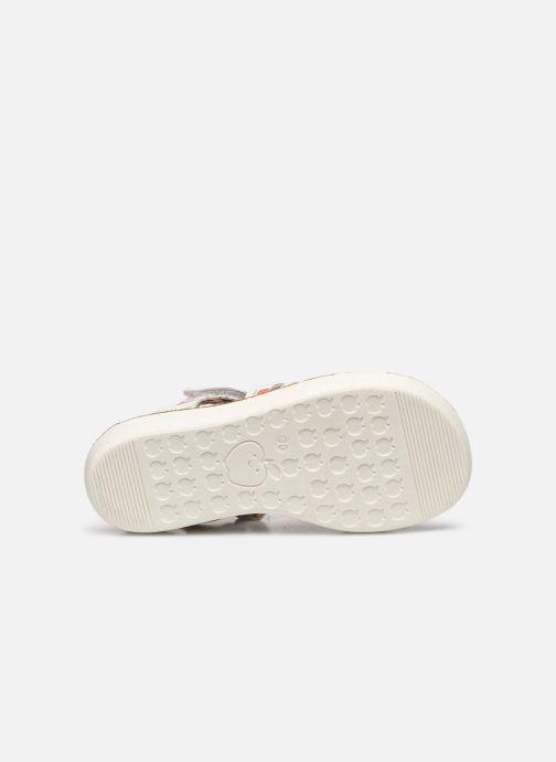 Sandales et nu-pieds Shoo Pom Goa Spart Blanc vue haut
