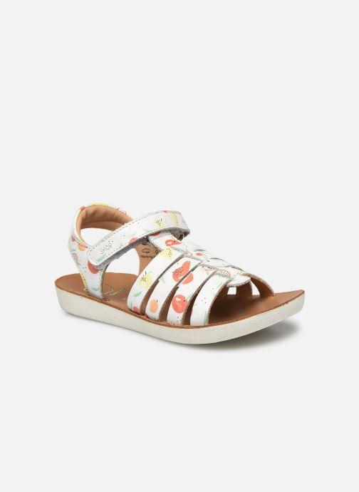 Sandales et nu-pieds Shoo Pom Goa Spart Blanc vue détail/paire