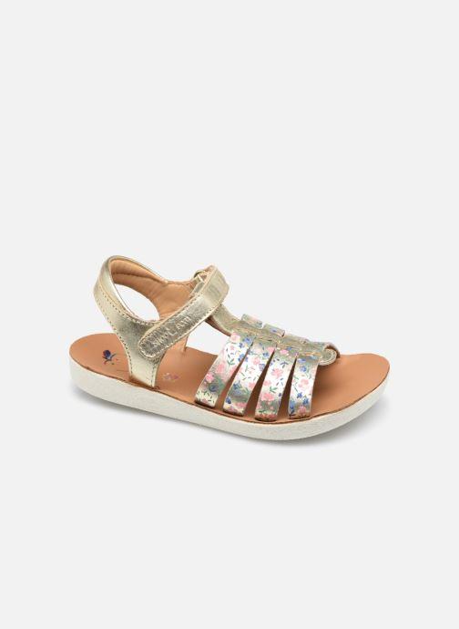 Sandales et nu-pieds Shoo Pom Goa Spart Or et bronze vue détail/paire