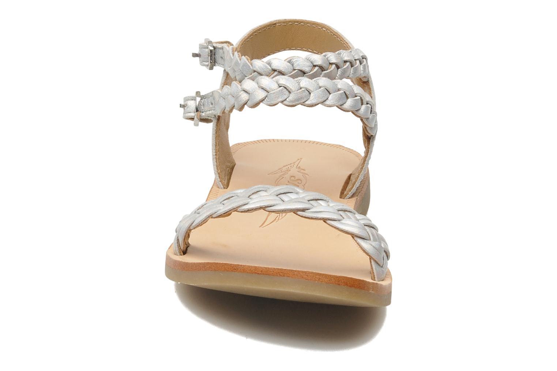 Sandals Shwik LAZAR BI WOVEN Silver model view