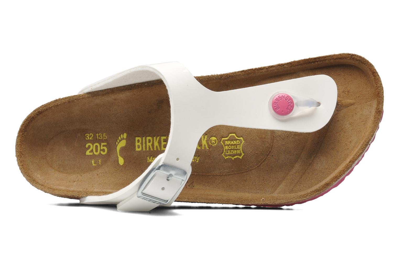 Flip flops & klipklapper Birkenstock Gizeh Birko-Flor Hvid se fra venstre