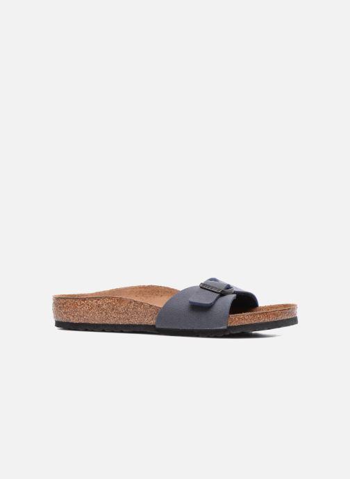 Sandales et nu-pieds Birkenstock Madrid Birko Flor Bleu vue derrière