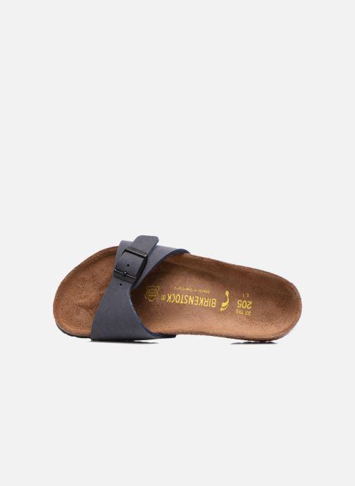 Sandales et nu-pieds Birkenstock Madrid Birko Flor Bleu vue gauche