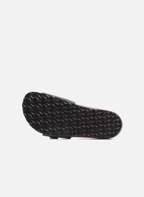 Sandales et nu-pieds Birkenstock Madrid Birko Flor Bleu vue haut