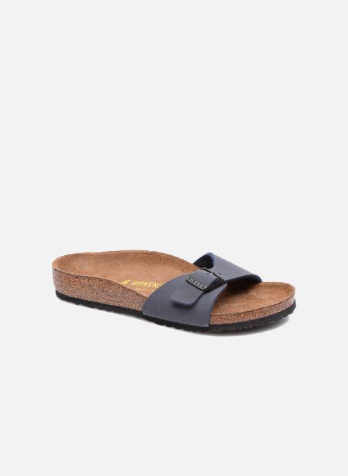 Sandales et nu-pieds Birkenstock Madrid Birko Flor Bleu vue détail/paire