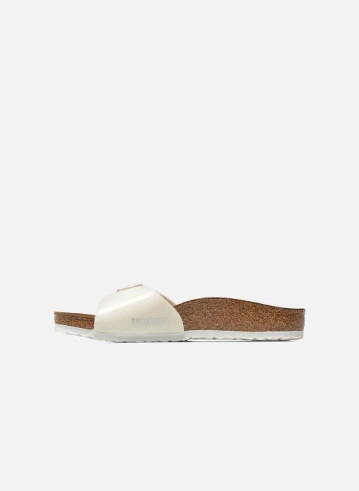 Sandali e scarpe aperte Birkenstock Madrid Birko Flor Bianco immagine frontale