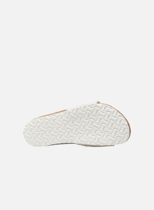 Sandali e scarpe aperte Birkenstock Madrid Birko Flor Bianco immagine dall'alto