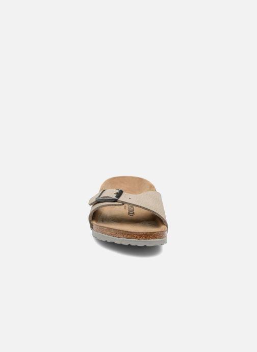 Sandali e scarpe aperte Birkenstock Madrid Birko Flor Beige modello indossato
