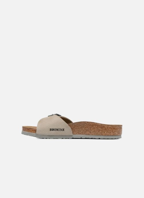 Sandali e scarpe aperte Birkenstock Madrid Birko Flor Beige immagine frontale