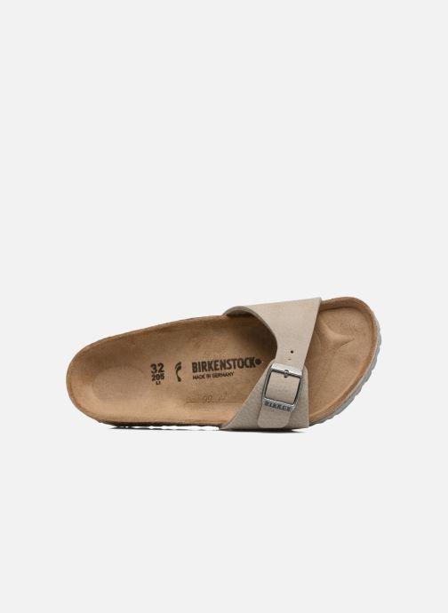 Sandali e scarpe aperte Birkenstock Madrid Birko Flor Beige immagine sinistra
