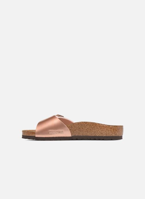 Sandali e scarpe aperte Birkenstock Madrid Birko Flor Rosa immagine frontale