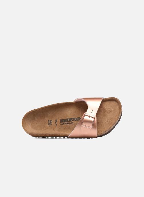 Sandali e scarpe aperte Birkenstock Madrid Birko Flor Rosa immagine sinistra