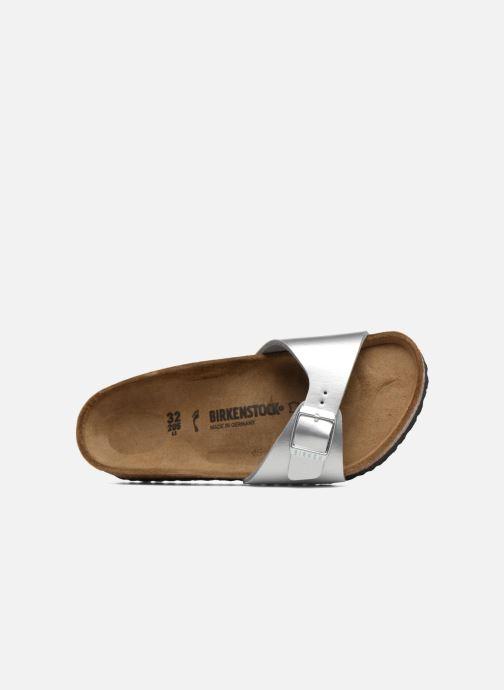 Sandali e scarpe aperte Birkenstock Madrid Birko Flor Argento immagine sinistra