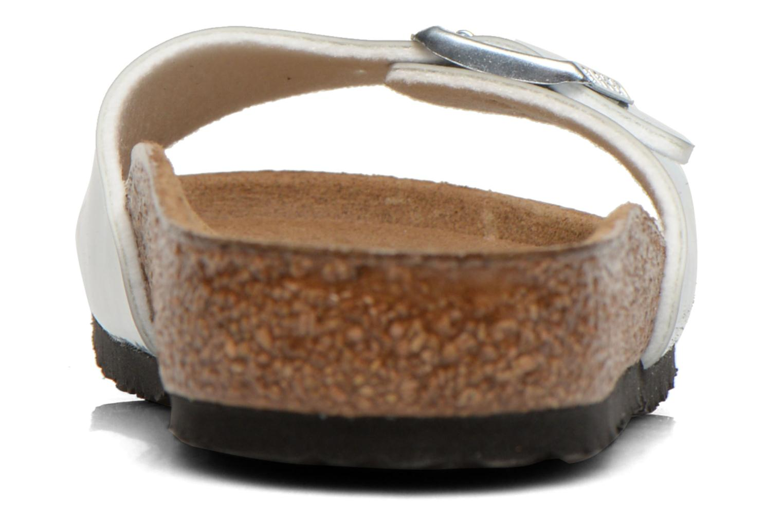 Sandales et nu-pieds Birkenstock Madrid Birko Flor Argent vue droite
