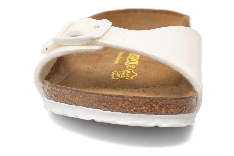 Sandales et nu-pieds Birkenstock Madrid Birko Flor Blanc vue portées chaussures
