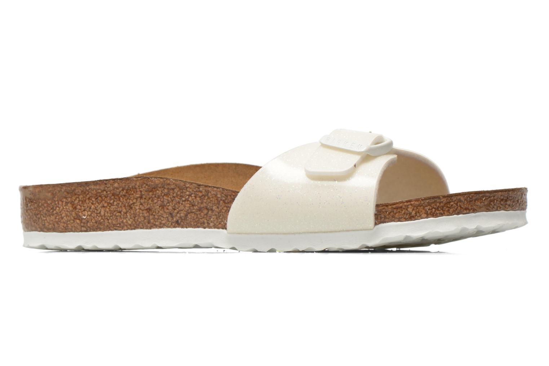 Sandales et nu-pieds Birkenstock Madrid Birko Flor Blanc vue derrière