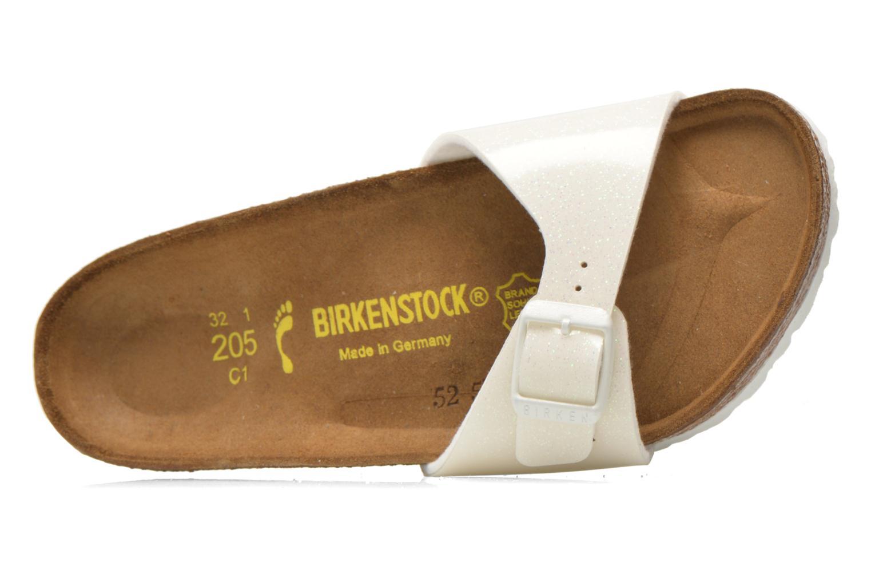 Sandales et nu-pieds Birkenstock Madrid Birko Flor Blanc vue gauche