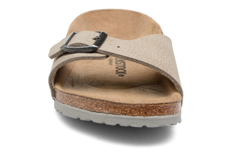 Sandales et nu-pieds Birkenstock Madrid Birko Flor Beige vue portées chaussures