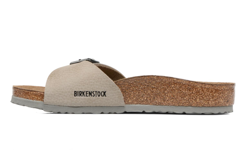 Sandales et nu-pieds Birkenstock Madrid Birko Flor Beige vue face
