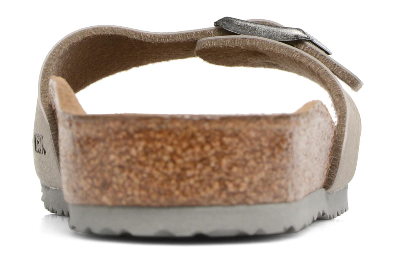 Sandales et nu-pieds Birkenstock Madrid Birko Flor Beige vue droite