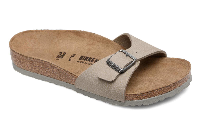 Sandales et nu-pieds Birkenstock Madrid Birko Flor Beige vue détail/paire