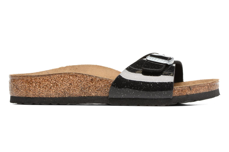 Sandales et nu-pieds Birkenstock Madrid Birko Flor Noir vue derrière