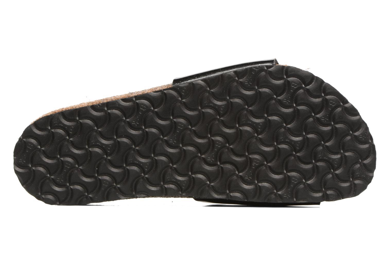 Sandales et nu-pieds Birkenstock Madrid Birko Flor Noir vue haut