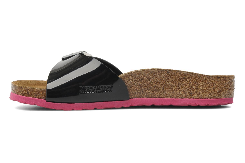 Sandales et nu-pieds Birkenstock Madrid Birko-Flor Noir vue face