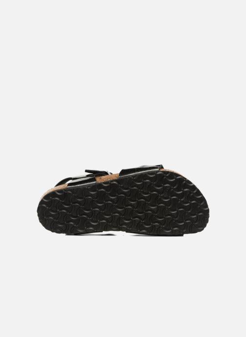 Sandali e scarpe aperte Birkenstock Rio Birko Flor Nero immagine dall alto 54a853d8810