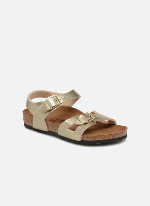Sandali e scarpe aperte Birkenstock Rio Plain Birko Flor Oro e bronzo vedi dettaglio/paio