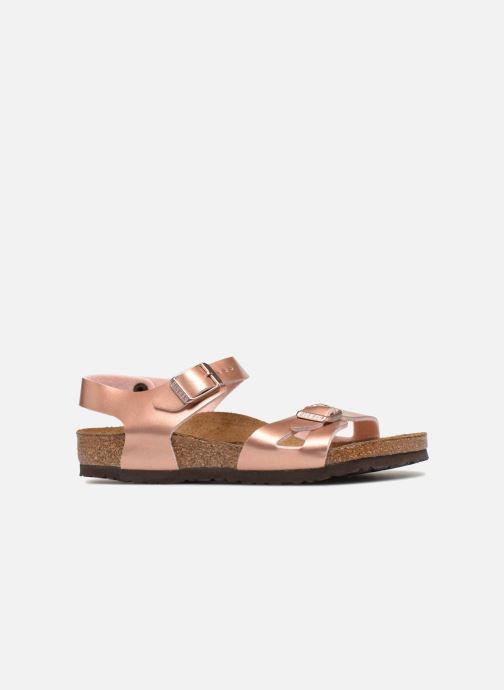 e0e033716 Birkenstock Rio Birko Flor (Bronze and Gold) - Sandals chez Sarenza ...