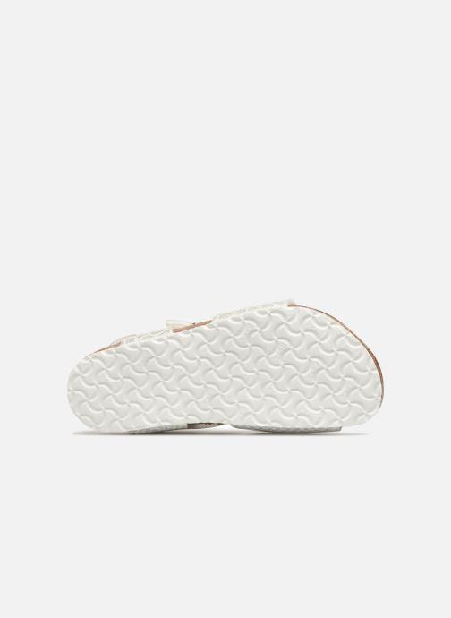 Sandali e scarpe aperte Birkenstock Rio Plain Birko Flor Bianco immagine dall'alto