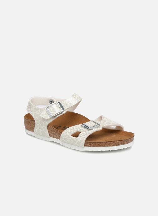 Sandali e scarpe aperte Birkenstock Rio Plain Birko Flor Bianco vedi dettaglio/paio