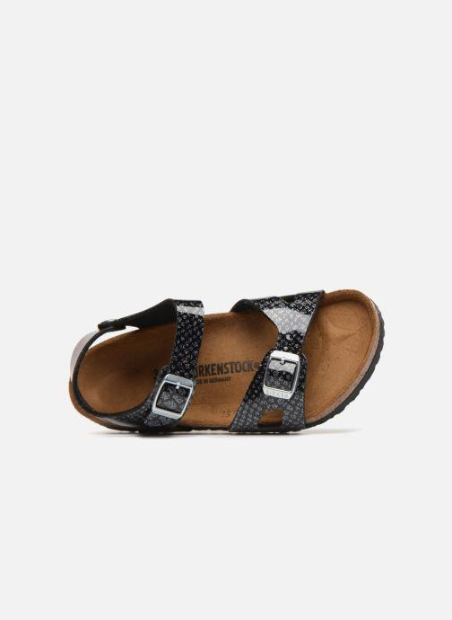 Sandali e scarpe aperte Birkenstock Rio Birko Flor Nero immagine sinistra