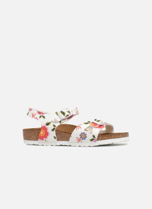 Sandali e scarpe aperte Birkenstock Rio Birko Flor Bianco immagine posteriore