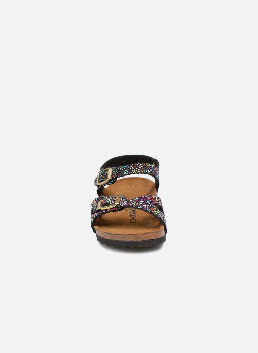 Sandaler Birkenstock Rio Birko Flor Sort se skoene på