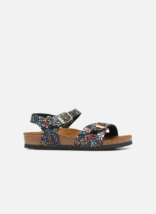 Sandali e scarpe aperte Birkenstock Rio Plain Birko Flor Nero immagine posteriore