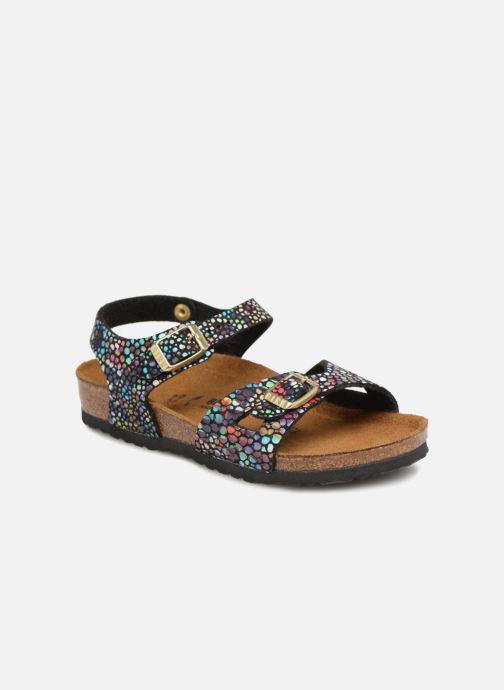 Sandali e scarpe aperte Birkenstock Rio Plain Birko Flor Nero vedi dettaglio/paio