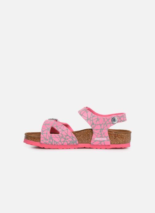 Sandaler Birkenstock Rio Birko Flor Pink se forfra