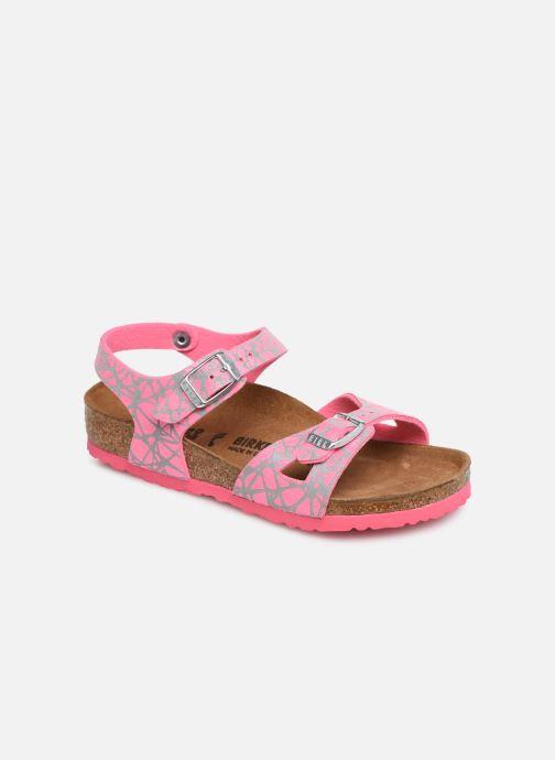 Sandali e scarpe aperte Birkenstock Rio Birko Flor Rosa vedi dettaglio/paio