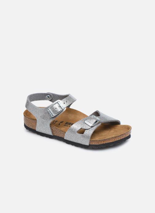 Sandali e scarpe aperte Birkenstock Rio Birko Flor Argento vedi dettaglio/paio