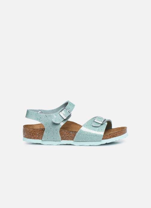 Sandali e scarpe aperte Birkenstock Rio Plain Birko Flor Argento immagine posteriore