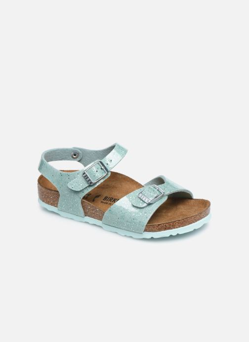 Sandali e scarpe aperte Birkenstock Rio Plain Birko Flor Argento vedi dettaglio/paio