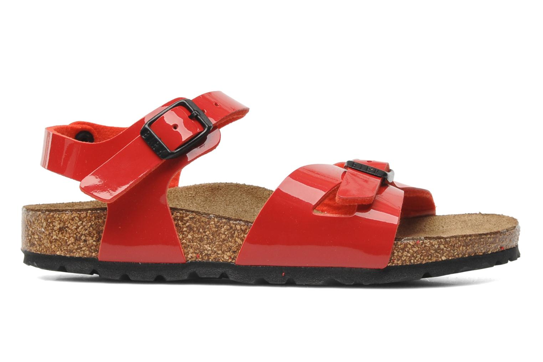 Sandales et nu-pieds Birkenstock Rio Birko Flor Rouge vue derrière